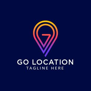 GO Location Logo Template