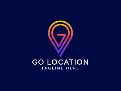 GO Location Logo Template