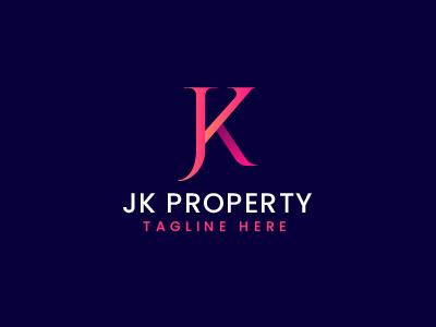 JK Letter Logo Template