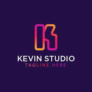Modern K Letter Logo Template