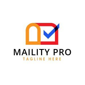 Modern Mailbox Logo Template