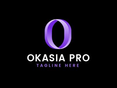 Modern O Letter Logo Template